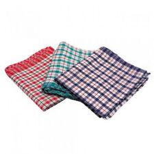 Clásico Tradicional Rojo Blanco & Azul de cuadros algodón paños cocina