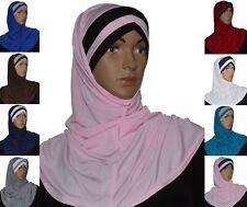 Kopftuch Hijab Khimar Scarf Esarp Islam Arabisch Orientalisch Abaya Amira 2 tlg