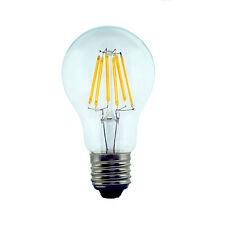 LED FILAMENT GLASS CLASSIC RETRO STYLE BULB E27 B22 BAYONET BASE DIM NON FLICKER