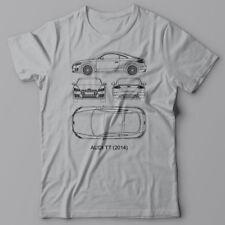 AUDI TT Cool T-shirt technical Tee shirt, JDM German BMW