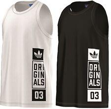 Adidas Herren T-Shirt Tank Top Shirt Sport Freizeit Tee Men, AJ7713, AJ7715