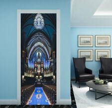 3D The Blue Palace Door Wall Mural Photo Wall Sticker Decal Wall AJ WALLPAPER CA