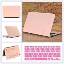 "2in1 Rose Quartz/Baby Pink Matte Case Keyboard Skin for MacBook Air Pro 13""/13.3"