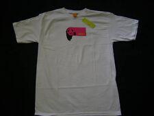 Enjoi Tartan Panda Logo Skateboard T-Shirt White