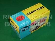 CORGI # 407 SMITH'S KARRIER BANTAM MOBILE SHOP-riproduzione Box da drrb