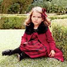 NWT Janie & Jack PRETTY IN PLAID 2T 3 4 5 6 Red Black Silk Duppioni Dress $109