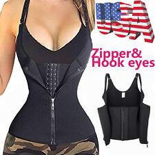 Women Hook&Eyes Underbust Waist Training Corset Steel Bone Corset Strap Vest