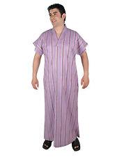 Herren Kaftan Tunika Hauskleid Sommerkleid Nachthemd Sauna- Wellness- Kleid- 668