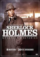 Sherlock Holmes: Greatest Mysteries (DVD, 2010, 5-Disc Set) NEW Sealed