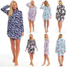 Ladies Sleep Shirt VISCOSE Nightshirt Boyfriend Beach Cover Summer Womens Bed
