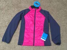 NWT Columbia Key Seeker Girl Hooded Full Zip Water Resistant Light Jacket