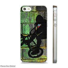 BMX BIKE GRAFFITI ART CLEAR CASE FITS APPLE IPHONE 4S 5 5S 5C 6 6S 7 8 SE X PLUS