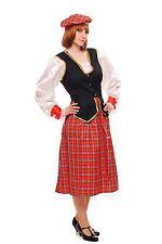 COSTUME FEMMES COSTUME FEMMES écossais ecossaise Scotswoman Écosse Scot K46