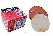 """Indasa 3"""" Rhynogrip Hook and Loop Sanding Discs 80 thru 3000 Grit"""