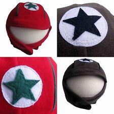 Kik-Kid Mütze Hat Fleecemütze warm Stern Speedy CAP Fleece  Gr. 50 -98 NEU