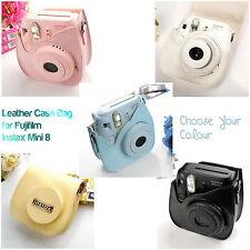 Case Protector Carry Strap Bag Cover For Fujifilm Instax Mini 8 Polaroid Camera