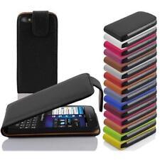 Schutzhülle im Flip Style Design für Blackberry Handys ohne Kartenfächer