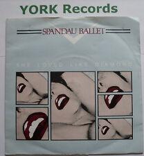 "SPANDAU BALLET - She Loved Like Diamond - Ex Con 7"" Single Chrysalis CHS 2585"