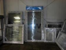 Balkontür mit Rollladen Breite 900 mm - 1 Flügel Kunststoff 2 oder 3fach Glas