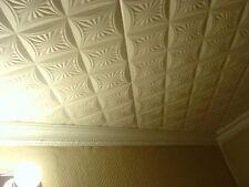 Decorative Texture Ceiling Tiles Glue UP - R40W On SALE