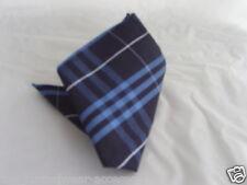"Tartan-blue/navy Bolsillo pañuelo de 9 ""x 9"" y gtThe plazas más u buy & gt y gtThe mayor $U guardar"