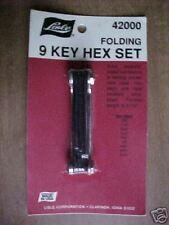 Folding 9 Key Hex Set #42000