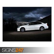 LEXUS GS 300 (AC694) CAR POSTER - Photo Picture Poster Print Art A0 A1 A2 A3 A4