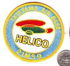 Tateyama Navy Air Force Base Patch Japan HELICO 21SQ Japanese Squadron xwzf