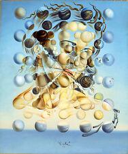 Salvador Dali Spherical Galatea canvas print 8X12&12X17 poster reproduction