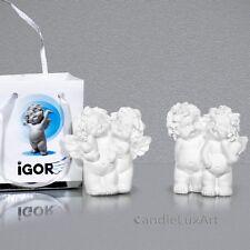 Engel Figur Igor Pärchen mit Herz 6cm Figuren Geschenk Dekoration Polyresin Deko