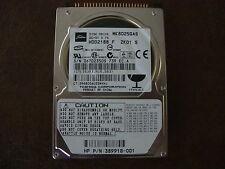 "Toshiba MK8025GAS HDD2188 F ZK01 S 610 A0/KA024A HP# 389918-001 80gb 2.5"" IDE"