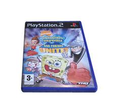 Spongebob Squarepants And Friends: Unite (Sony PlayStation 2, 2006) - US Version