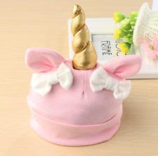 Baby Unicorn Beanie Bow knot Baby Hat