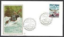 1993 ITALIA FDC FILAGRANO GOLD CAMPIONATI DEL MONDO CANOA KAYAK