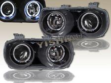 94 95 96 97 Acura Integra Headlights Black Twin Halo JDM