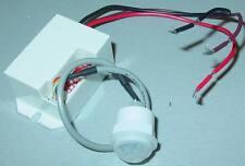 Mini PIR Bewegungsmelder 230V zum Festeinbau für Alarm, Caravan, Modellbau...