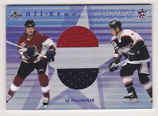 01-02 BAP Memorabilia Al MacInnis Double All-Star Jersey /60 2 Color