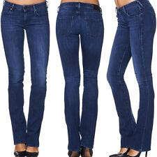 TRUE RELIGION Jeans GINA MINI BOOTCUT Blau/Dunkelblau Hose NEU