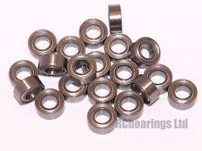 3x6x2.5mm 3x6x2.5 Bearings Bearing Metal Rubber Seal Shielded CODE MR63zz MR63rs