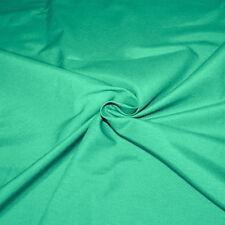 Tela Algodón por Metro Color Plano Verde h.280 cm Tapicería Cortinas SARANI