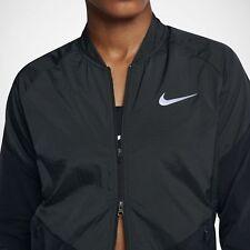 NIKE STADIUM FLEX Women's Full Zip Flyvent, Water-Resistant Running Jacket Dri-F