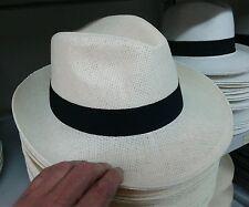 cappello crema mod. Borsalin  uomo estivo  elegante cerimonia fontana hat man