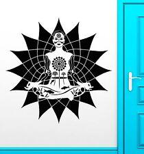 Wall Stickers Vinyl Decal Mantra Yoga Zen Buddhism Enlightenment (ig1828)