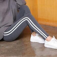 Plus Size S-6XL Leggings Women Gothic Side Striped Legging