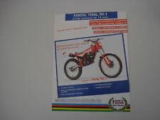 advertising Pubblicità 1986 MOTO FANTIC TRIAL 50.1