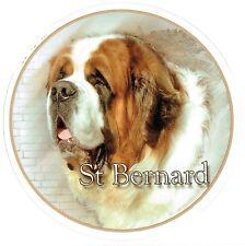 Aufkleber Motiv 3 Bernhardiner Saint St. Bernhard Dog Autoaufkleber Sticker