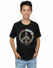 Woodstock Garçon Floral Peace T-Shirt