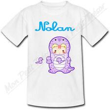 T-shirt Enfant Serpent Horoscope Chinois avec Prénom Personnalisé