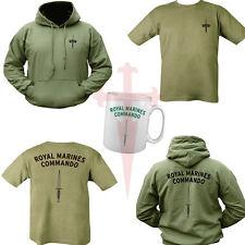 ROYAL MARINES COMMANDO Bundle T-Shirt, Felpa Con Cappuccio & TAZZA Unisex Tutte le Taglie DOPPIA STAMPA