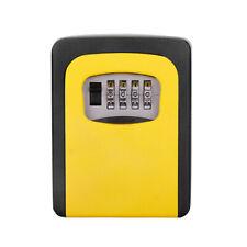 4-Digit Combination Key Lock Box Wall Mount Safe Security Storage Case